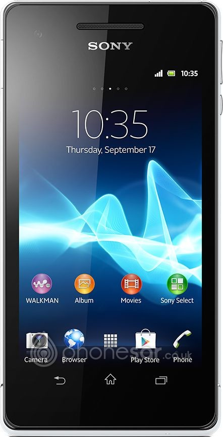 Sony Xperia V - Cheap deals, SAR Values, Specifications, Price